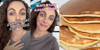 Million MAGA March pancakes