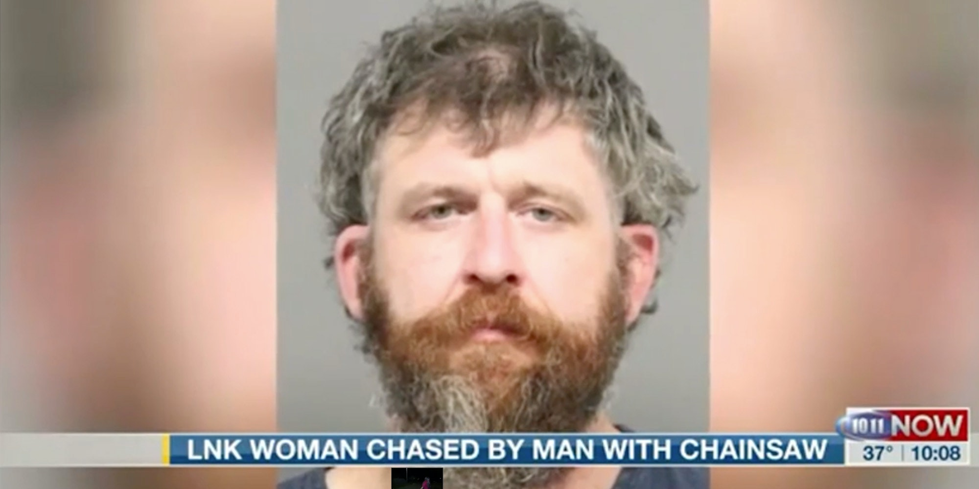 man chases woman with chainsaw because she was black