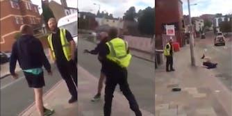 man-knocking-out-alleged-pedophile-uk