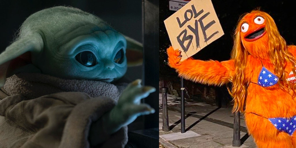 newsletter baby yoda egg gritty