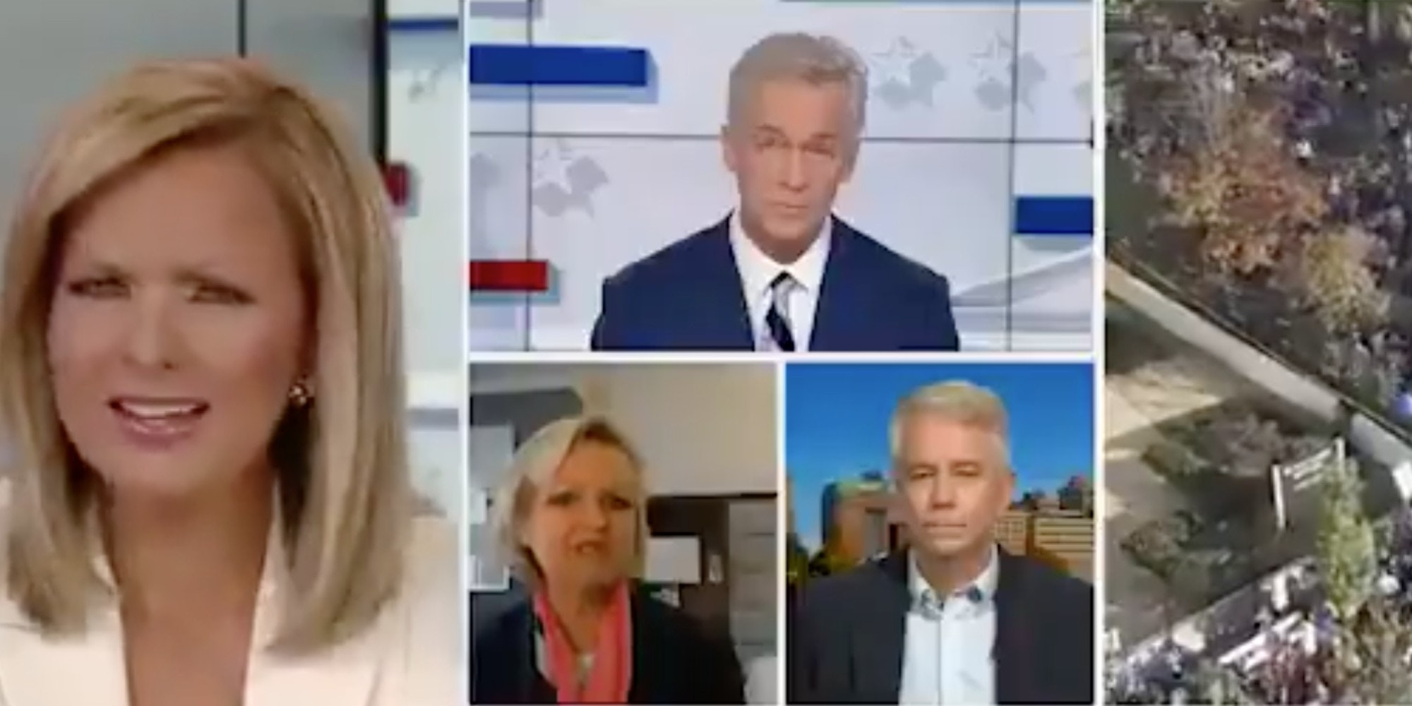 Several Fox News anchors and pundits