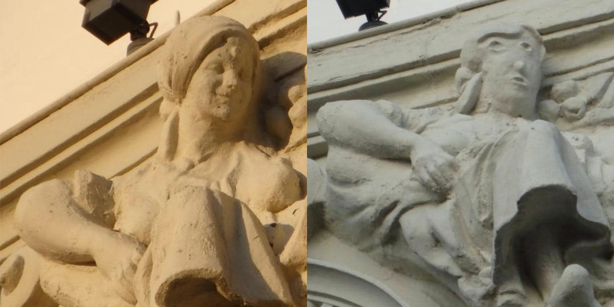 botched statue restoration