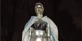 Mary Wollstonecraft nude statue backlash