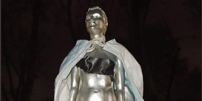 Mary Wollstonecraft nude statue backlash