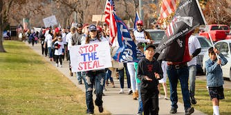 Stop the Steal protest