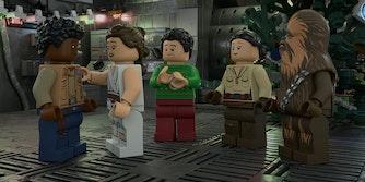 stream lego Star Wars holiday special