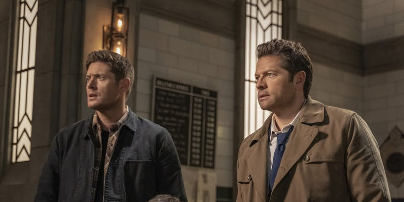 supernatural spanish destiel