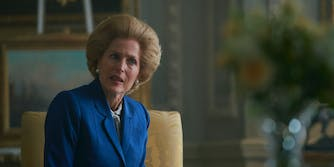 the crown margaret thatcher