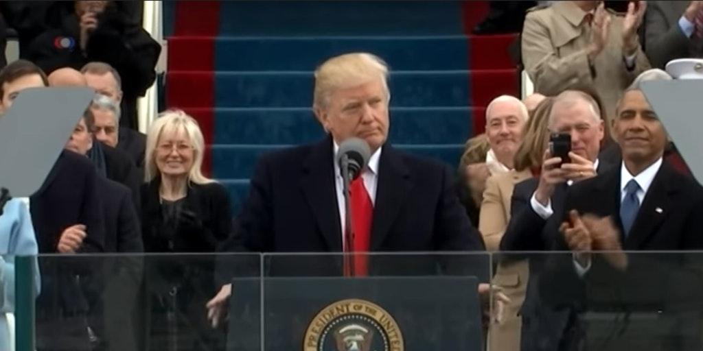 President Donald Trump's inauguration