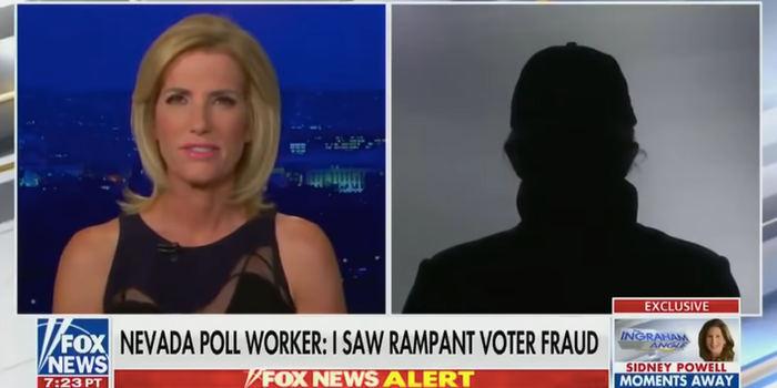 Trump anonymous poll worker video