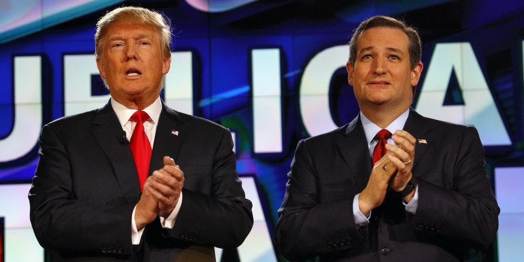 Trump Ted Cruz voter fraud tweet