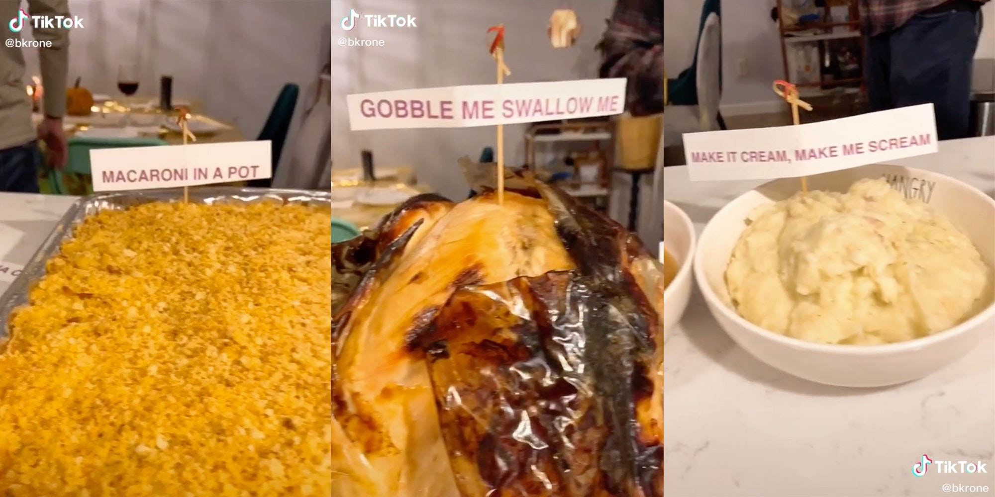 wap thanksgiving tiktok