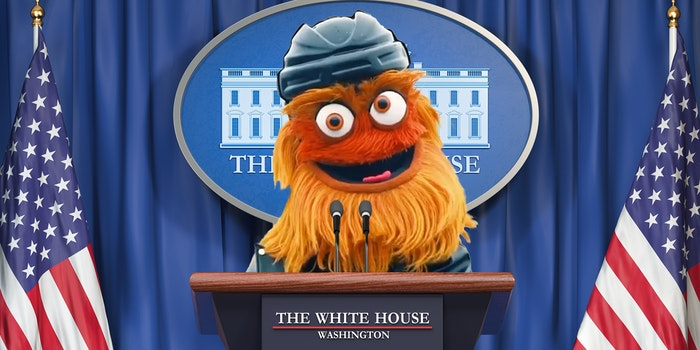 Gritty at the White House