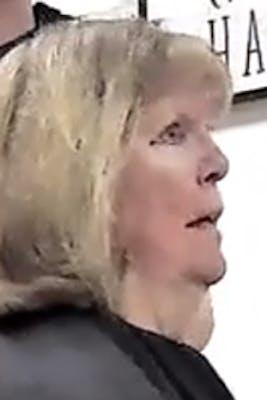 upset woman in hair salon