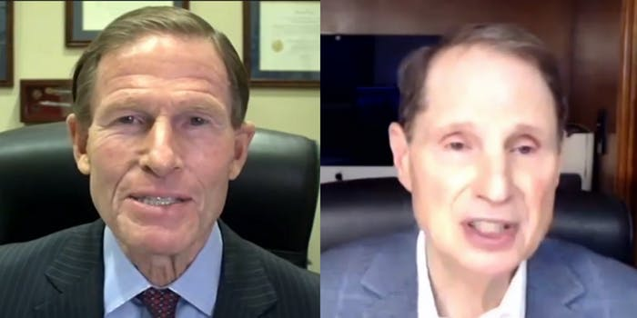 Sen. Richard Blumenthal and Sen. Ron Wyden joined tech advocates in opposing Nathan Simington being appointed to the FCC.