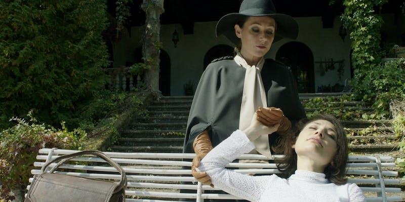 A still from the movie Duke of Burgundy.