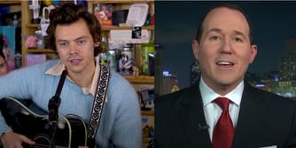 Hashtag 'Fox News Jacks Off To Harry Styles' goes viral after host attacks the singer's style