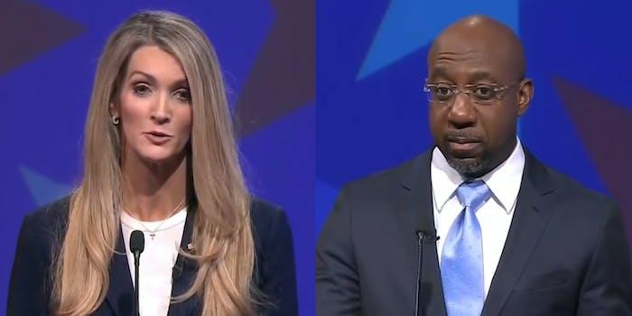 Kelly Loeffler Refuses To Acknowledge Trump Lost Election