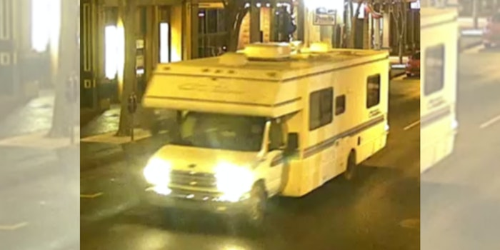 """An RV used by the suspected Nashville bomber. Investigators are looking into whether the man who detonated a bomb inside an RV in Nashville, Tennessee on Christmas morning had a """"paranoia over 5G"""" technology, according to reports."""