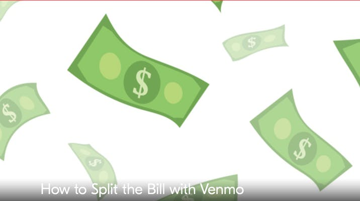 image of dollar bills on page showing how does venmo work grubhub account