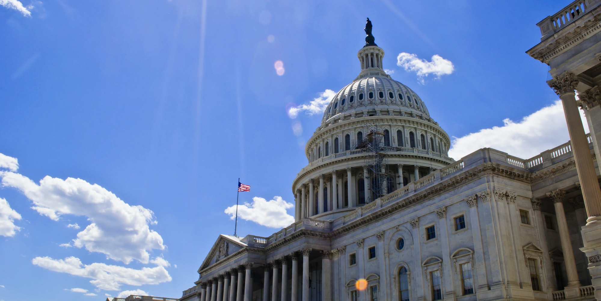 A picture of the U.S. Capitol. A group of internet companies have formed a coalition that will lobby Congress against making sweeping changes to Section 230 of the Communications Decency Act.