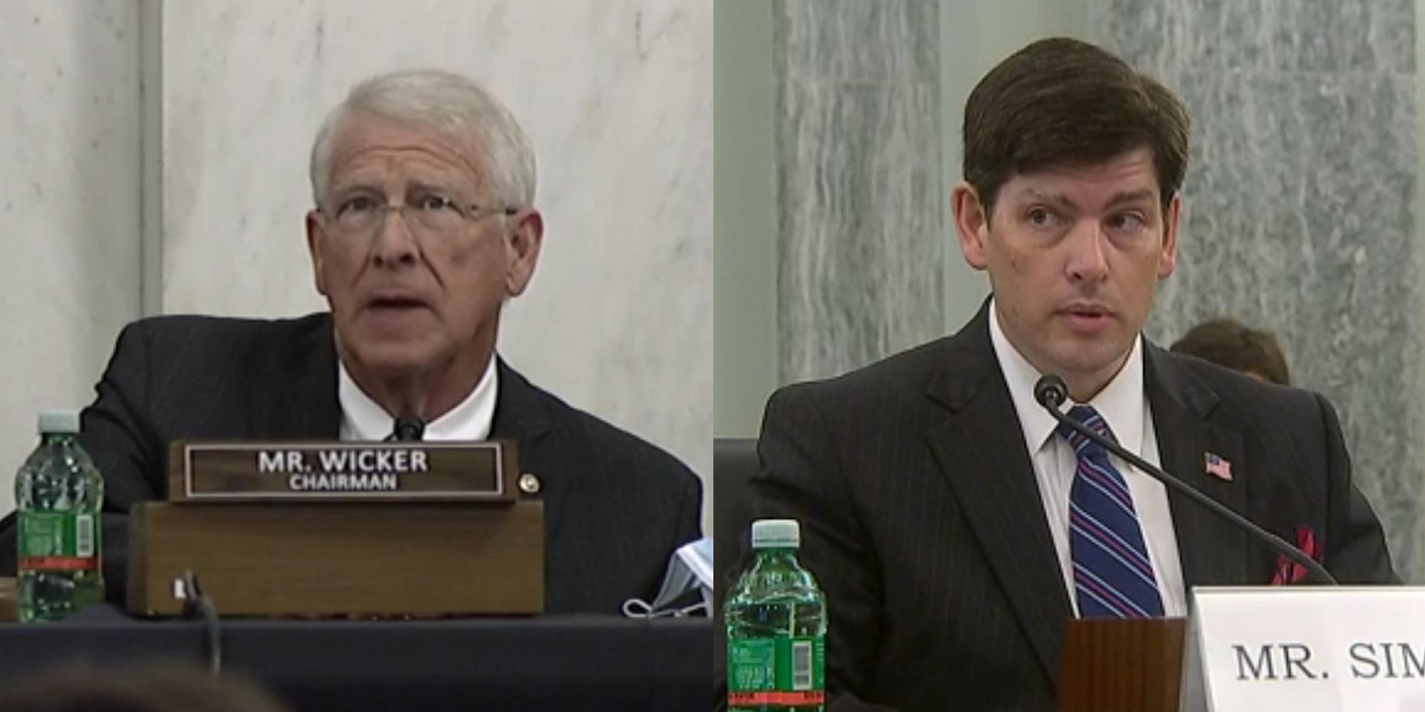 Senate Commerce Committee Nathan Simington FCC