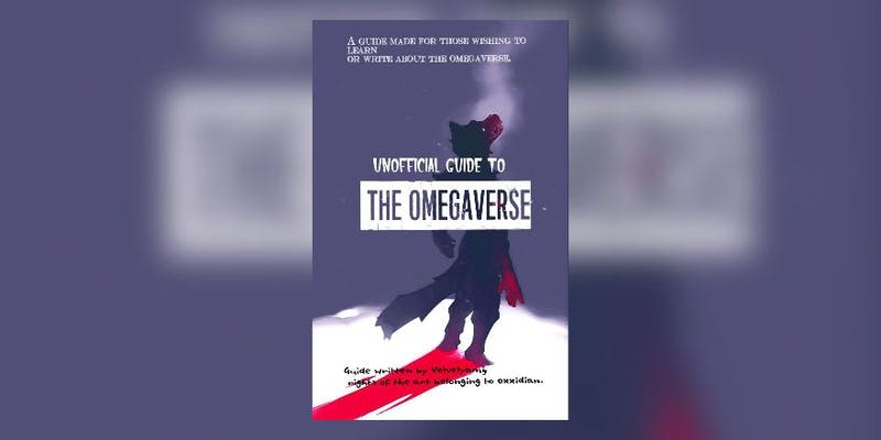 The cover for Velvelyami's guide to the omegaverse on Wattpad.