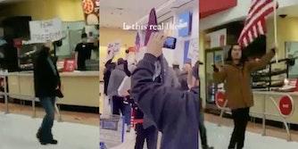 anti-maskers-protest-mask-mandate-walmart-target-arizona