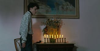 call me by your name Hanukkah scene