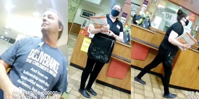 dennys worker quits anti-maskers