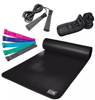 edx 9 piece work out set