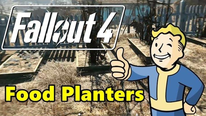 photo of fallout 4 food planters mod