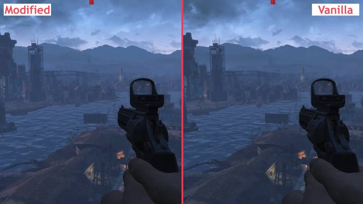 photo of Fallout 4 mods, this one is the fog harbor lite mod.