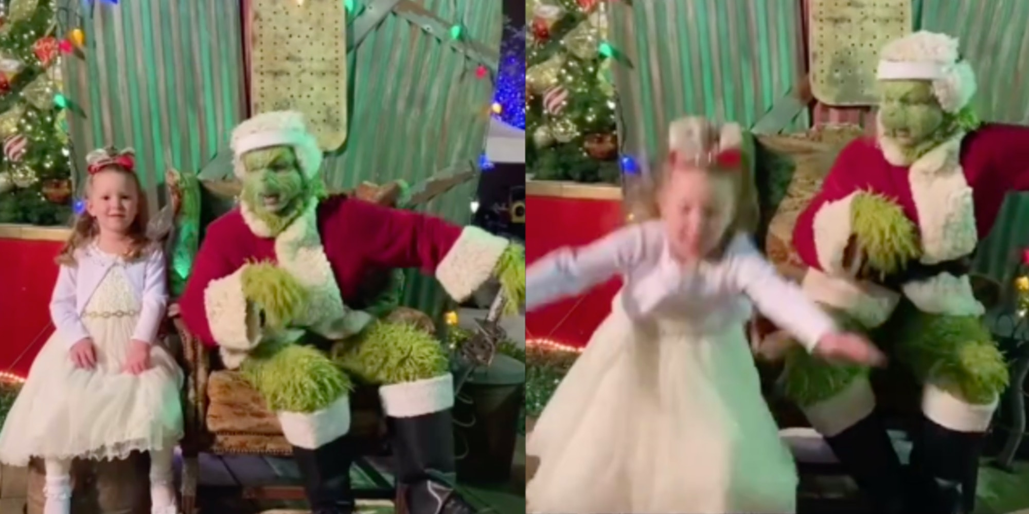 grinch prank tiktok video