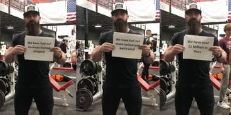 Ian Smith of Atilis Gym in Bellmawr, New Jersey