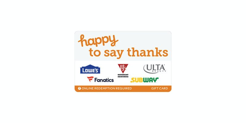 happy to say thanks