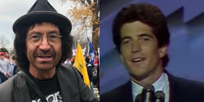 Vincent Fusca and JFK Jr.