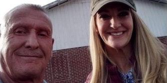 Kelly Loeffler and former KKK leader Chester Doles