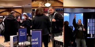 Male Karen harasses Barnes and Noble employee who tells him to wear mask