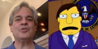 Austin Mayor Steve Adler and Springfield Mayor Joe Quimby