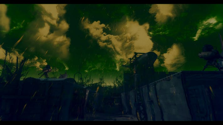 Photo of mod: fallout 4's nuclear winter mod.