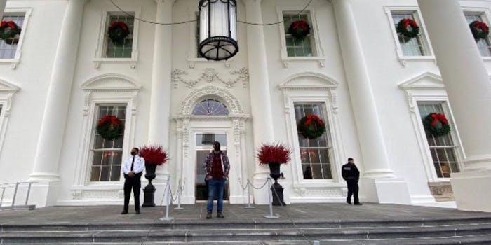 proud boys leader Enrique Tarrio white house