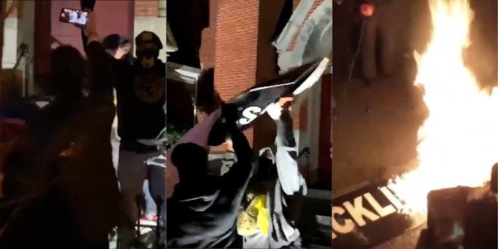 proud-boys-vandalizing-black-church