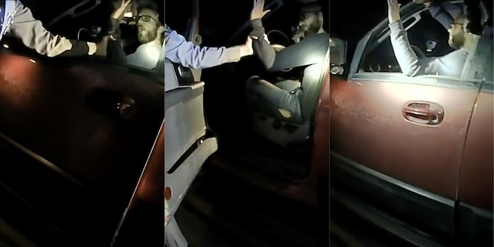 racial-double-standard-white-driver-threatens-to-shoot-cop-Ohio