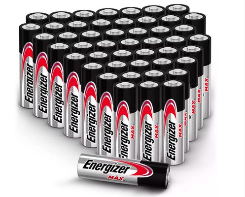 secret santa gift ideas 48-pack of batteries