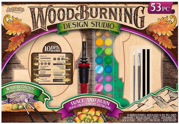 wood burning design studio secret santa gift