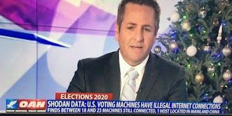 A segment on One America News Network