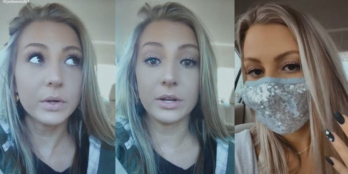 tiktoker jada woods family dies covid anti-mask
