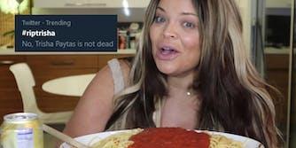 Trisha Paytas death hoax memes