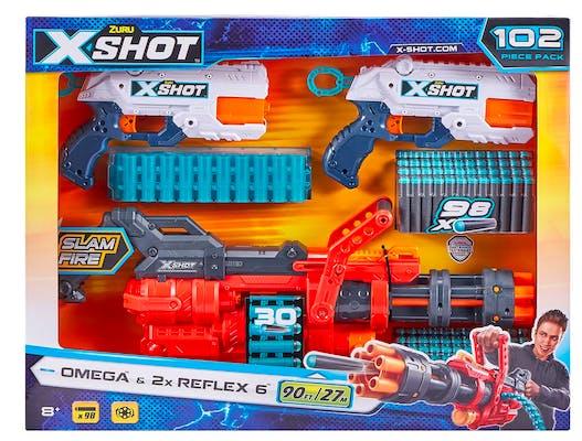sam's club secret santa x-shot combo pack omega